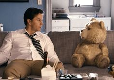 Do you know Ted? Ted is a funny bear who can speak to its master, and make so many jokes and bad things between the master and his girlfriend. It is really funny to enjoy!