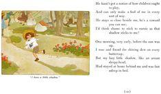 Last two verses of RLS My shadow.