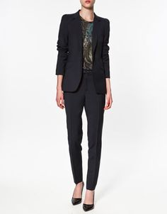 GATHERED SLEEVE BLAZER - Blazers - Woman - ZARA United States