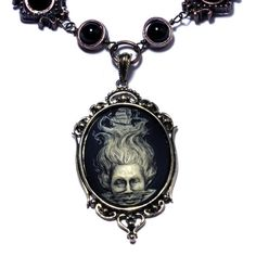 Steampunk Goth Jewelry  Necklace  Ivory on by CatherinetteRings, $60.00