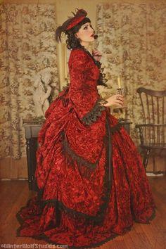 steampunk-gothic-victorian-gown