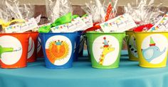 adorable favors for circus, animal parade, zoo party love love love