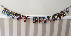 Lego Birthday banner this year!