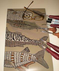 Heads or Tails plate by Mariann Johansen Ellis, via Flickr