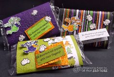 Karen's Stamping & Crafting Creations: Anyone Want Popcorn for Halloween-All That Stickles!