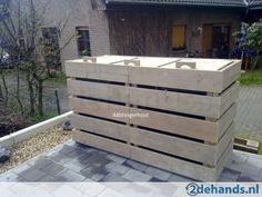 Gebruikt schutting hout