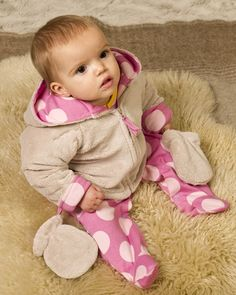 Baby Girl Fur Jacket - Baby Girls Clothes