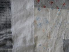patchwork / love the pale palette