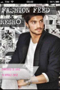Follow on Fashion Feed https://twitter.com/#!/Fashion_Feed the unique blog of @marianodivaio http://marianodivaio.com/