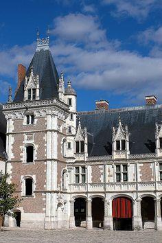 Aile Louis XII du Château de Blois