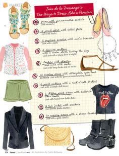 10 Ways to Dress like a Parisian www.coriburchell.com