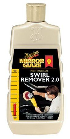 To try - Meguiar's M9 Mirror Glaze Swirl Remover  - 16 oz.