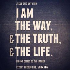 Way to Truth and Life