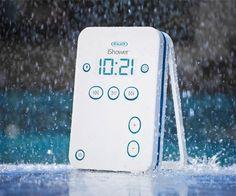 #iShower Bluetooth Shower Speaker $100 #gadgets