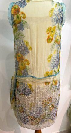 ca 1925 Chiffon Dress