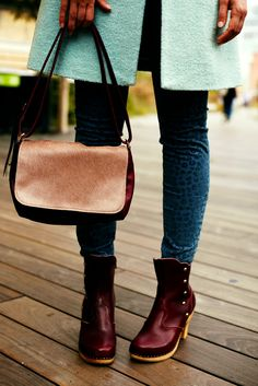 color, ankle boots, anthropologie, button booti, shoe, leopard prints, burgundy, blues, bags