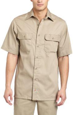 Carhartt Men's Short Sleeve Twill Work Shirt