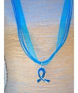 Bonanza.com  Ovarian Cancer Necklace  **LOVE**