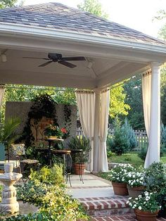 A great alternative to a pergola.