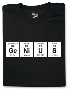 Periodic GeNiUS T-Shirt $16.99