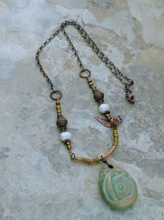 Necklace with Copper