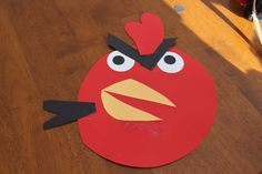 DIY Paper Angry Birds