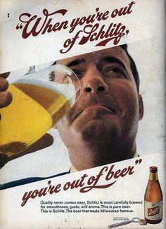 schlitz, beer, ad