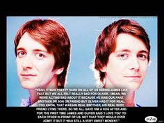 Dan said this about Fred's death scene...adorable!