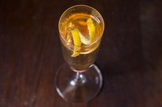 Champagne Cocktail recipe on Food52.com