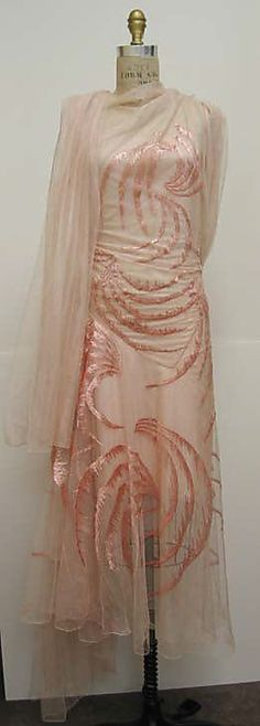 Vionnet evening dress 1929