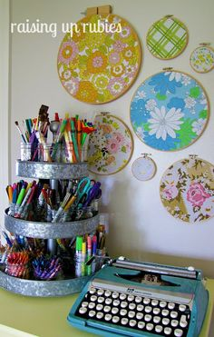 Beautiful craft/sewing room and blog