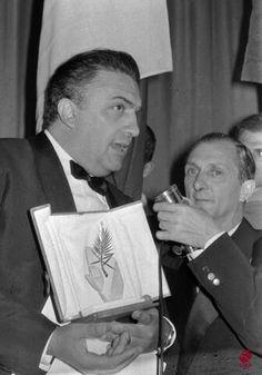 #Cannes 1960, Federico Fellini Palme d'or, La Dolce Vita