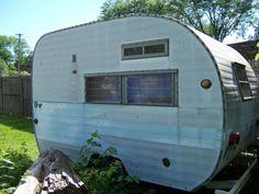 Mobile Scout Vintage Canned Ham Trailer camper Like Shasta Scotty | eBay