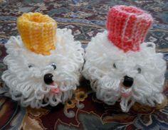Fluffy Booties-Free Crochet Pattern
