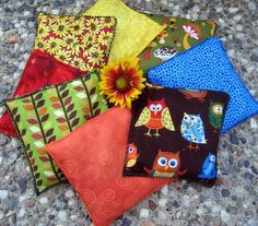 Forest Friends Herbal Play Bean Bags