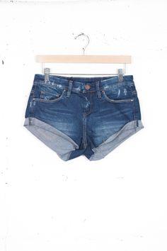 Cut Off Jean Shorts - @ Parc Boutique