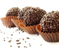 Dessert Recipe: Chocolate Truffles