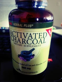 Everything you need to know about Activated Charcoal and how it can help with getting glutened!