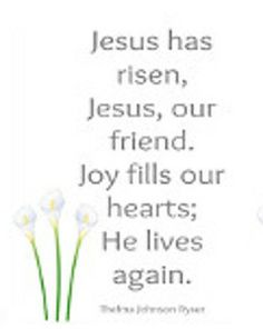 Easter Song Printable | AllFreeHolidayCrafts.com
