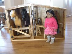 Horse Barn  Horse Stable  for American Girl by paynestdollboutique, $360.00