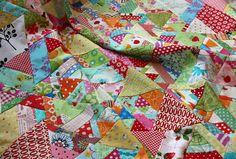 Magnolia Bay Quilts: 60-Degree Quilt Tutorial