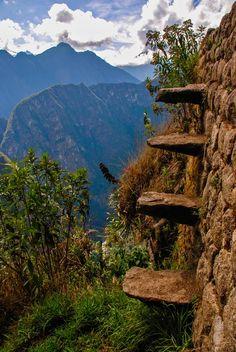 Watch your steps, Machu Picchu  Perú