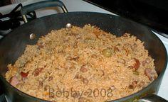 Arroz con gandules (rice & green beans)