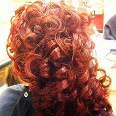 Perfect Irish dance curls =)