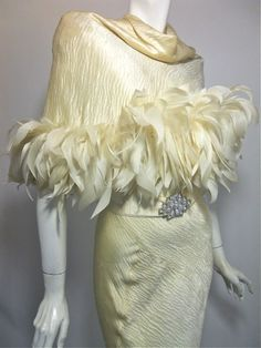 Feathers/karen cox....Most amazing 1930s gown
