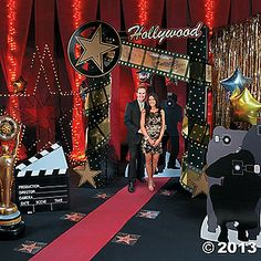 HOLLYWOOD Movie Oscar Themed Party Decor Prop Wooden DIRECTOR 39 S