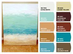 potential room color scheme.