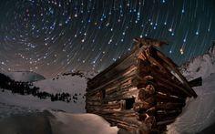 A long-exposure shot of the night sky above Colorado.