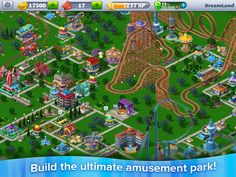 RollerCoaster Tycoon 4 Mobile App by Atari
