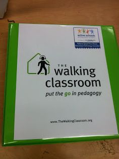 This non-profit organization is dedicated to getting students out and moving during the school day.  Each student gets an Mp3 player loaded with grade appropriate podcasts...so they are learning the common core, standards based content, while walking.  It is amazing!!